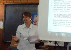 Isabel-palestrando