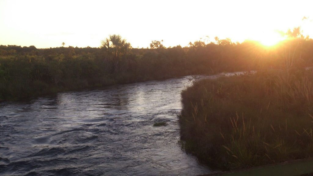 Por do Sol - Parque Nacional das Emas - Mineiros GO